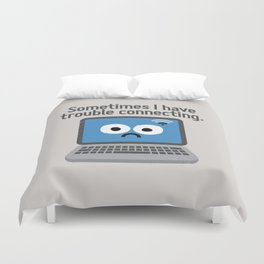 The Social Notwork Duvet Cover