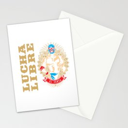 El Santo, Mexican wrestling fighter - Lucha Libre Stationery Cards