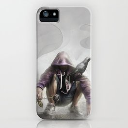 The Crow of Zagreb iPhone Case
