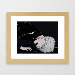 BRAIN STEW Framed Art Print