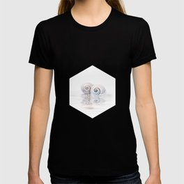 Snail Shells On Water T-shirt