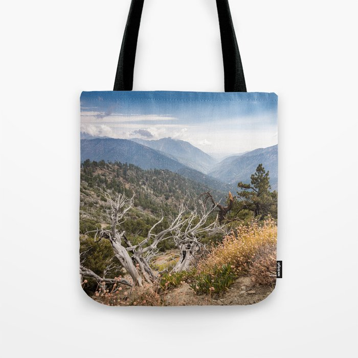 Inspiration Point along Pacific Crest Trail Tote Bag