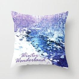 Winter Wonderland Throw Pillow
