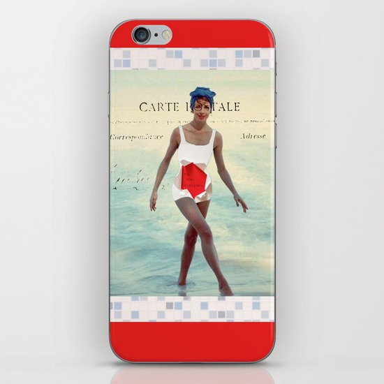 Tu Me Manques iPhone & iPod Skin