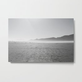 Sea Mist in Seaside Metal Print