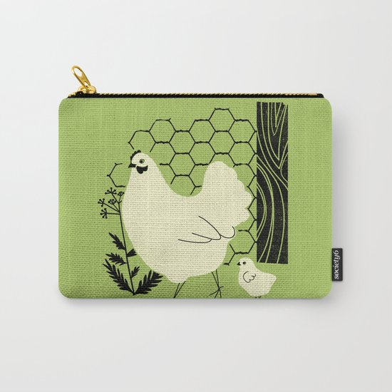 Hen and chick Carry-All Pouch