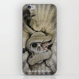 Mors Tua Vita Mea iPhone Skin