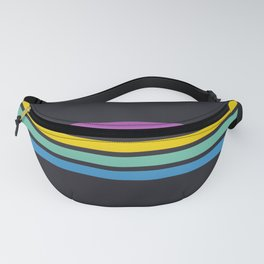 Boho Candy Stripes Fanny Pack
