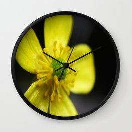 Mellow Yellow Wall Clock
