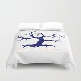 Tree of Life Dark Blue Duvet Cover