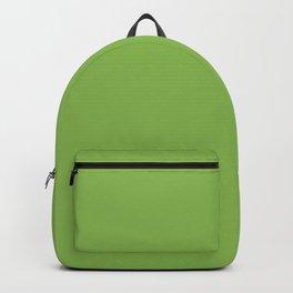 GREENERY PANTONE 15-0343 Green Backpack