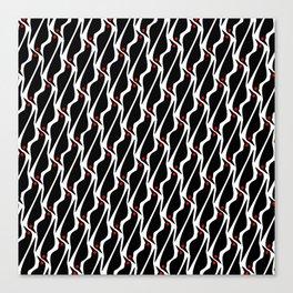 Asian glossy starling pattern Canvas Print