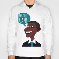 obama Hoodies featuring OBAMA by artic