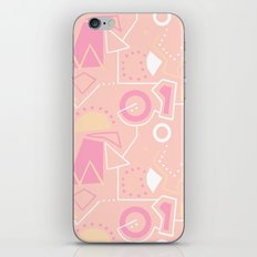 Graze Maze Peach iPhone & iPod Skin
