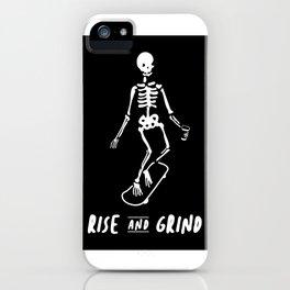 Rise & Grind iPhone Case