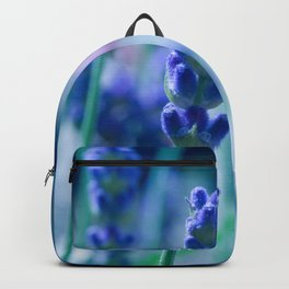 A Touch of blue - Lavender #1 Backpack