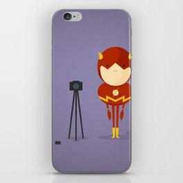 My camera hero! iPhone Skin