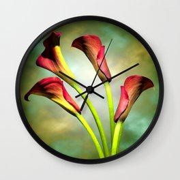 Calla Wall Clock