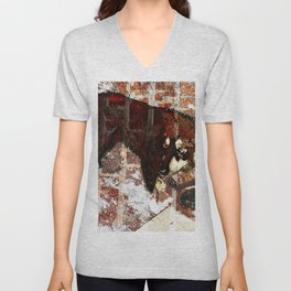 Dog Art Unisex V-Neck