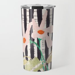 still life  with a vase in modern style, Gouache painting no.13 Travel Mug
