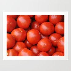 Farmstand Tomatoes  Art Print