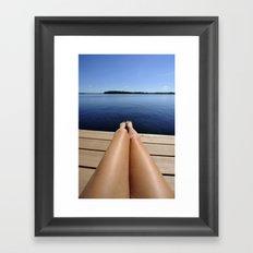 Legs Framed Art Print