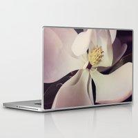 magnolia Laptop & iPad Skins featuring Magnolia by Deepti Munshaw