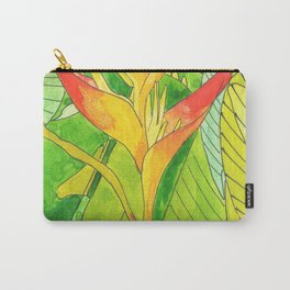 Caribbean flower, balisier FrenchWest indies Carry-All Pouch