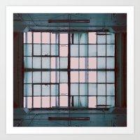 warehouse 02 Art Print