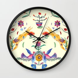 Summer girls Wall Clock