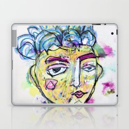 She is imperfect, but she tries Laptop & iPad Skin