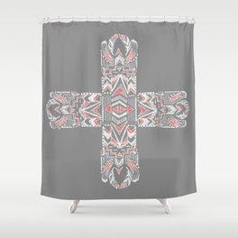 Pocatiki Tribe Shower Curtain