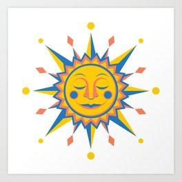 Summer's Joy Art Print