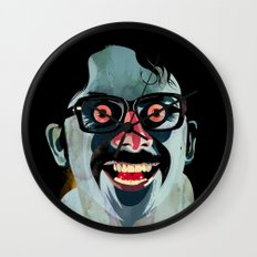 Portrait of Alonso Quijada Wall Clock