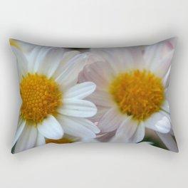 Hazy Day Daisies  Rectangular Pillow