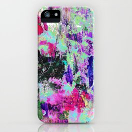 Bright Paint Peeling iPhone Case