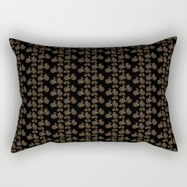 Racing Bicycle Pattern Rectangular Pillow