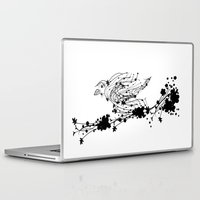 sparrow Laptop & iPad Skins featuring Sparrow by Cristian