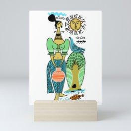 Sri Lanka Scene Mini Art Print