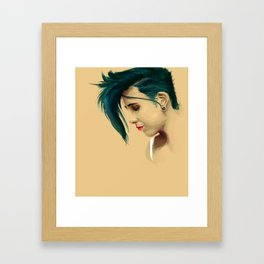 TheAqua Framed Art Print