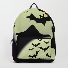 Bats and Moon Backpack