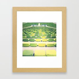 sea(ts) II Framed Art Print