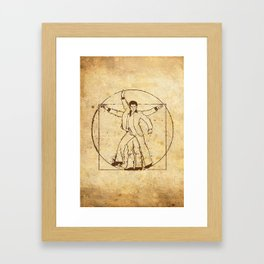 VI-GROOVIAN MAN Framed Art Print