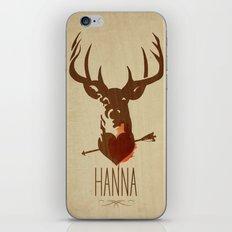 HANNA film tribute poster iPhone & iPod Skin