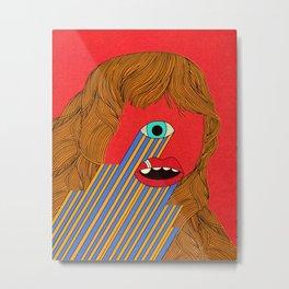 Smith Eyed Metal Print