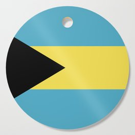 Bahamas flag emblem Cutting Board