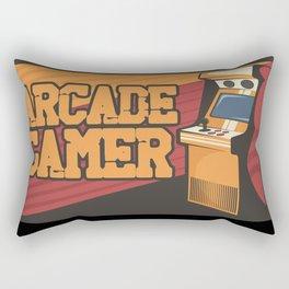Arcade Gamer Game Over Playing Console Rectangular Pillow