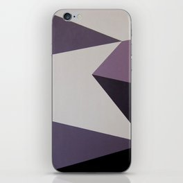 Dazzle Ship Camouflage Graphic Design (Detail) iPhone Skin
