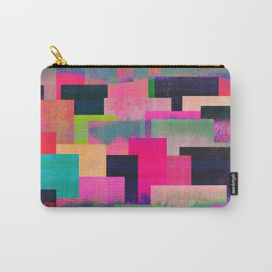 colour + pattern 4 Carry-All Pouch