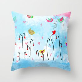san valentino Throw Pillow